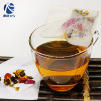 Customized shape tea filter bag