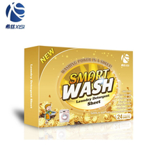 Fashion product brand laundry clean detergent sheets